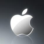 """""""Apple Grey"""" iPhone Wallpaper 320×480"""