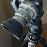 Sony NEX-5N on a tripod