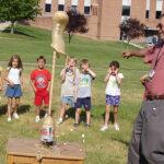rocket science (mentos eruption)