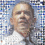 Barack Obama: A mosaic of people