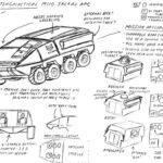 M110 Jackal APC concept art