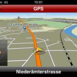 Navigon on iPhone 3G S