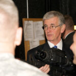 Army secretary tours research, development facilities