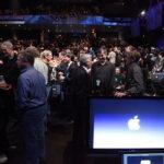 Press prepares for Apple event