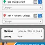 iOS transit app: HopStop
