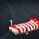 """Rudolph"" – Candy Cane-Class Corvette (1)"
