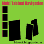 Add Multi Tabbed Navigation Widget To Blogger / Blogspot Blogs Sidebar