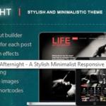 Afternight – An Elegant Minimalist Responsive Theme
