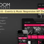 K-BOOM v1..6 – Occasions & Music Responsive WordPress Theme