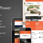 King Energy – Retina Ready Multi-Purpose Themeforest Theme