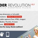 Slider Revolution Responsive WordPress WordPress plugin