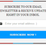 HackingUniversity like Responsive Email Subcription widget for blogger