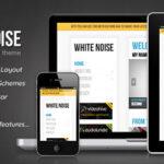 Whitened Noise – Responsive WordPress Theme