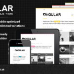 Angular – Responsive Portfolio