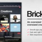 Brick – Themeforest Creative Ajax WordPress Theme