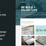 Cluster – A Bold Portfolio Themeforest WordPress Theme