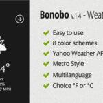 Codecanyon Bonobo – Weather Widget v1.4