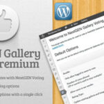 Codecanyon NextGEN Gallery Voting Premium v1.4.1