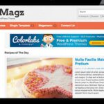 FoodMagz v1.1.4 Colorlabs WordPress Theme