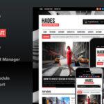 Hades v1.6.3 Themeforest Bold Magazine Newspaper Template