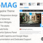 Metro Magazine v1..4 Themeforest Responsive WordPress Theme