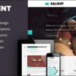 Salient – Responsive Portfolio & Blog Theme v1.4.2