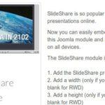 Responsive SlideShare Module v 1.. For Joomla J2.5