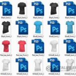 Templates T-t shirts