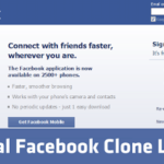 Original Facebook Clone Leaked! 2013