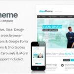 Aqua – Responsive Multi-Purpose WordPress Template