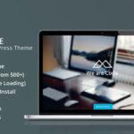 HalfCreative – Themeforest One Page Portfolio WordPress Theme