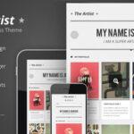 The Artist – Themeforest Clean Responsive Portfolio Theme