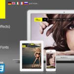 Themeforest Full Fashion – an Ajax Fullscreen WordPress Theme