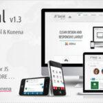 JF Social – Themeforest Joomla JomSocial Template