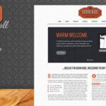 Retro Scroll – Themeforest Creative One Page WordPress Theme