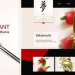 Taste of Japan – Themeforest Restaurant / Food WordPress Theme
