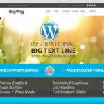 BigWig – Themeforest Modern Corporate Retina WordPress Theme