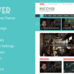 Uncover – Themeforest Flat WordPress Magazine Theme