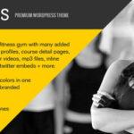 Fitness – Themeforest Premium WordPress Theme