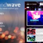 SoundWave – Themeforest The Background Music Vibe WordPress Theme
