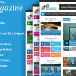 Adams v1.2. – Themeforest Responsive WordPress News, Magazine, Blog