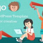 Blogo – Themeforest Stylish WordPress Theme for Creative Writers