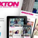 Braxton – Themeforest Premium WordPress Magazine Theme