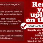 Easy Upload Renamer for WordPress
