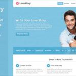 LoveStory v1.7 – Themeforest Dating WordPress Theme