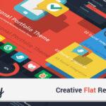 Simplicity – Themeforest Creative Flat Retina WordPress Theme