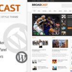 Broadcast v1.3 – Themeforest News/Magazine WordPress Theme