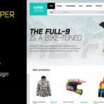 ThemeForest – SuperDuper  HTML5 Template Responsive