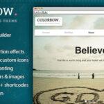 Colorbow – Themeforest Onepage Creative Portfolio Theme