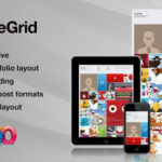 SquareGrid v3. – Themeforest Fully Responsive Theme For Portfolio